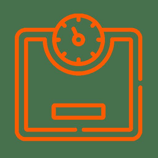 icone presse-agrumes poids