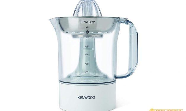 Test du presse-agrumes électrique JE290 de chez Kenwood